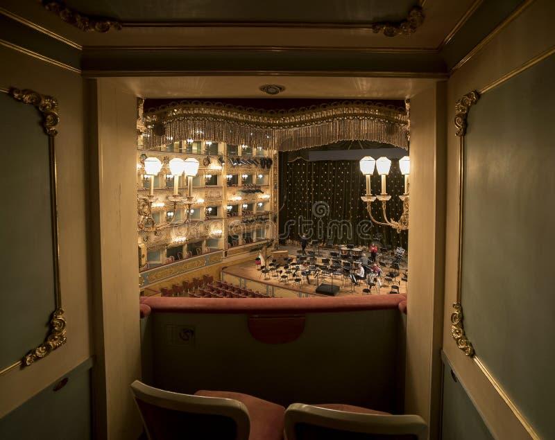 La Fenice Gran Teatro lizenzfreie stockfotos