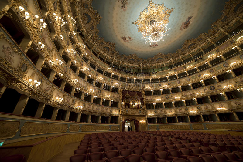 La Fenice Gran Teatro lizenzfreies stockfoto