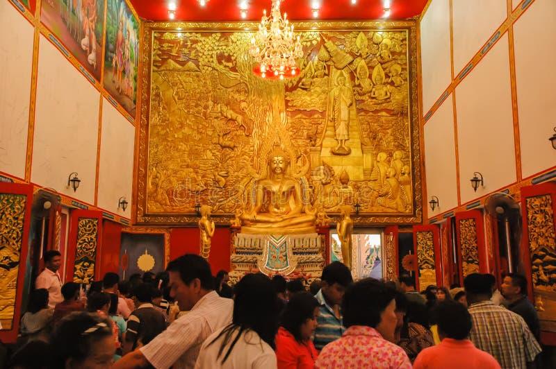 La feria del templo es una tradición anual imagenes de archivo