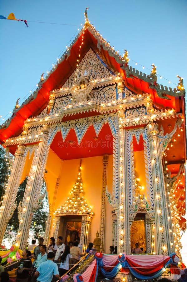 La feria del templo es una tradición anual imagen de archivo