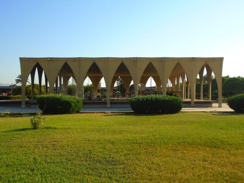 La feria internacional de Trípoli fotografía de archivo libre de regalías