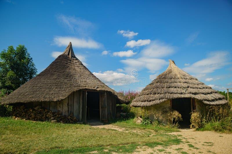 La ferme antique éducative de Butser photo libre de droits