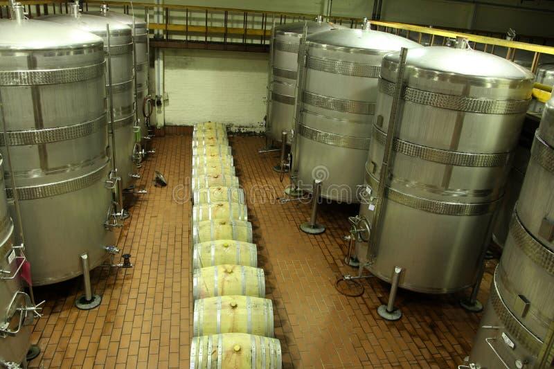 Fermentazione del vino fotografia stock libera da diritti
