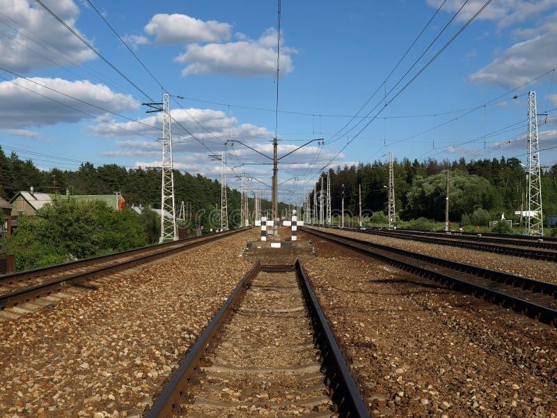 La ferrovia fotografie stock