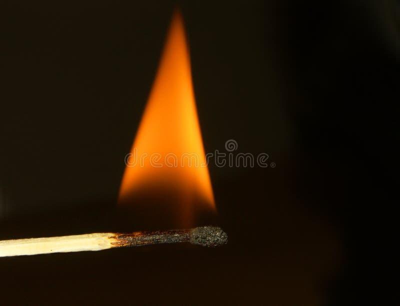 La fiamma fotografie stock libere da diritti