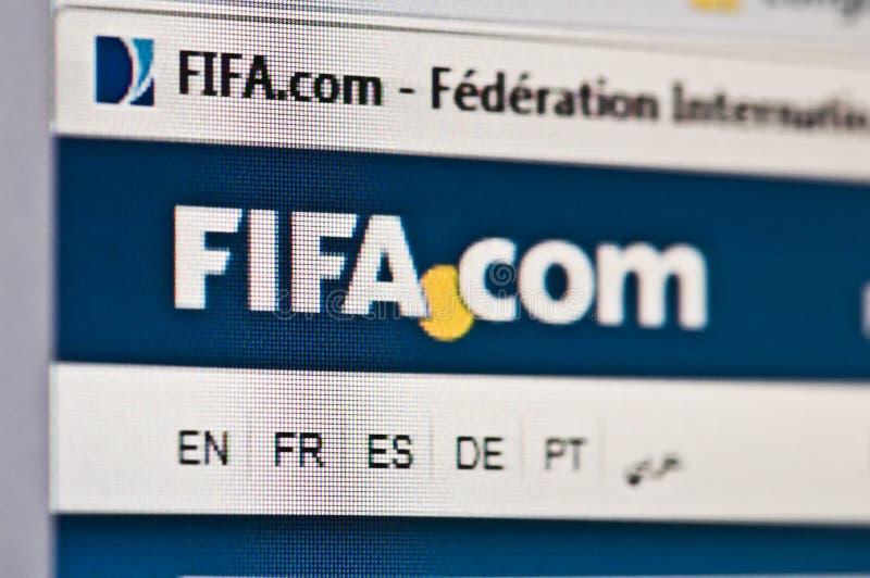 La FIFA fotografía de archivo