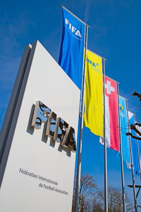 La FIFA siègent image libre de droits