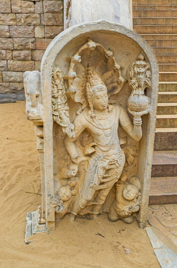 La figura del Naga-rajá foto de archivo libre de regalías