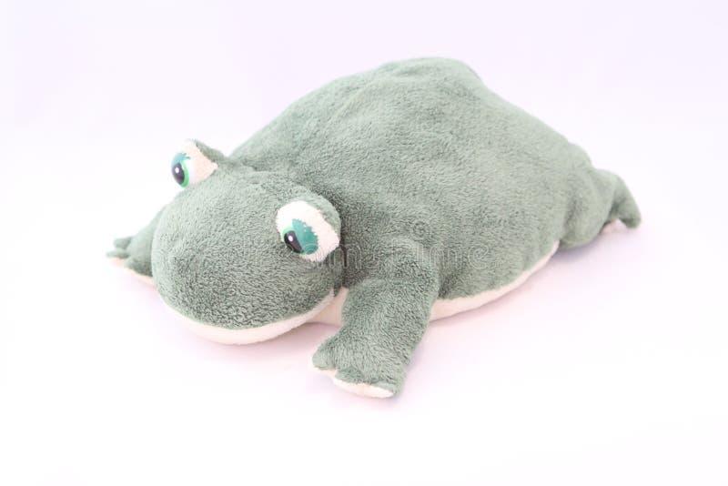 La figurine exclusive de grenouille est fabriqu?e ? la main photographie stock