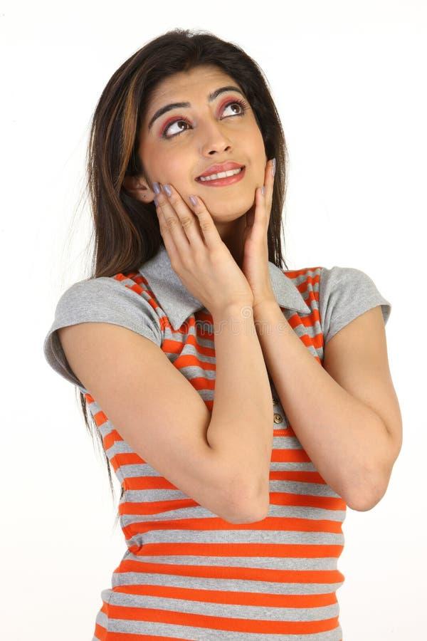 Download La Fille De Joues La Remet Sexy Photo stock - Image du mains, beauté: 8662840