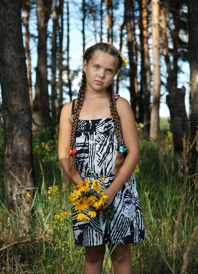 la fille en bois photo stock image du vacances t 20907156. Black Bedroom Furniture Sets. Home Design Ideas