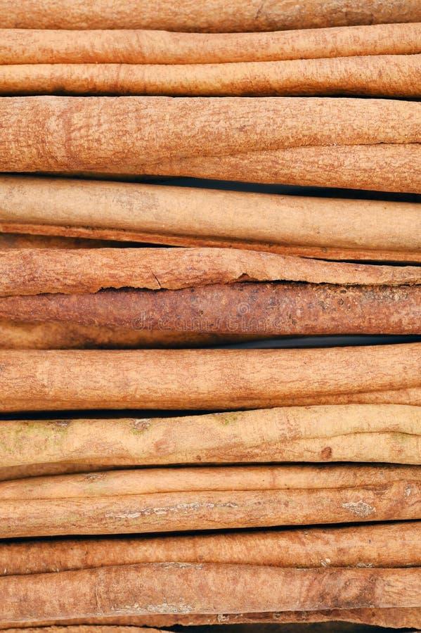 Download La Fin De Cannelle De Fond A Isolé Colle Vers Le Haut Le Blanc Photo stock - Image du beauté, brun: 56475748