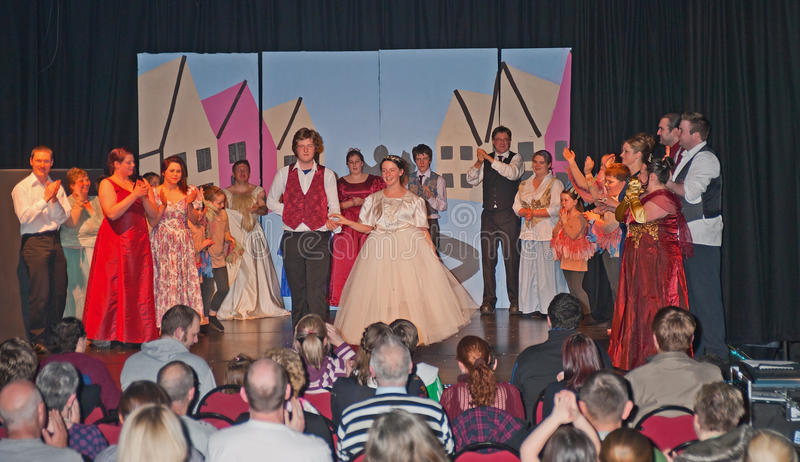 La finale de Cendrillon photo stock