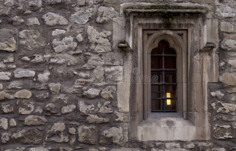 La finestra del monaco fotografia stock