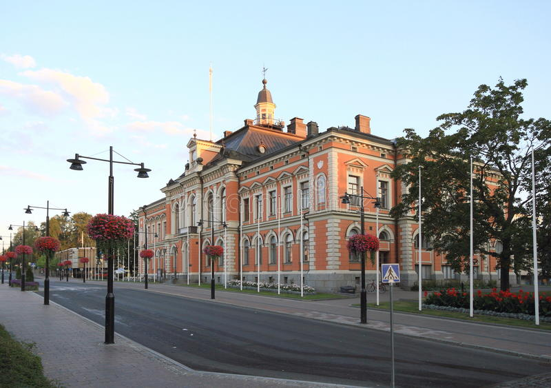 La Finlandia, Kuopio: Comune fotografia stock libera da diritti