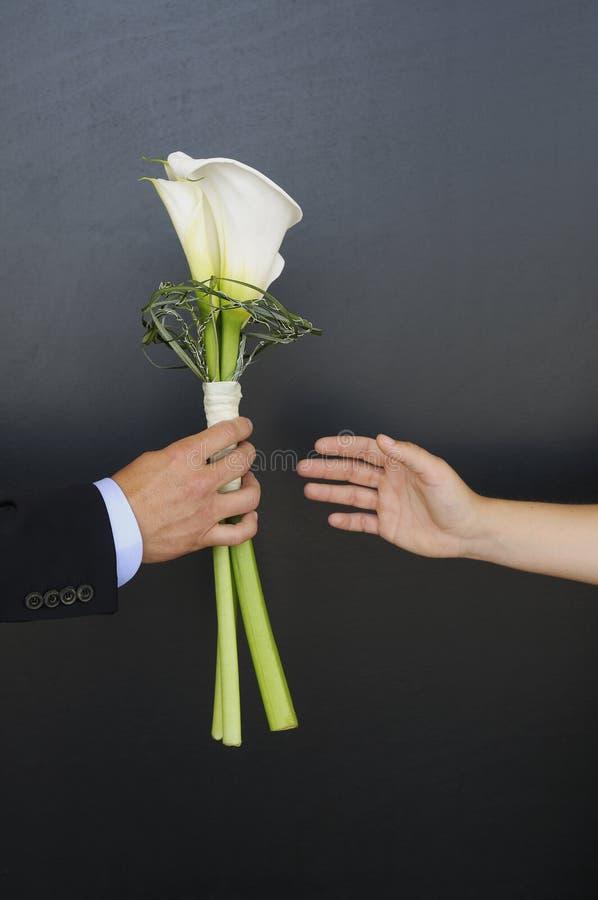 La flor de la boda fotos de archivo libres de regalías