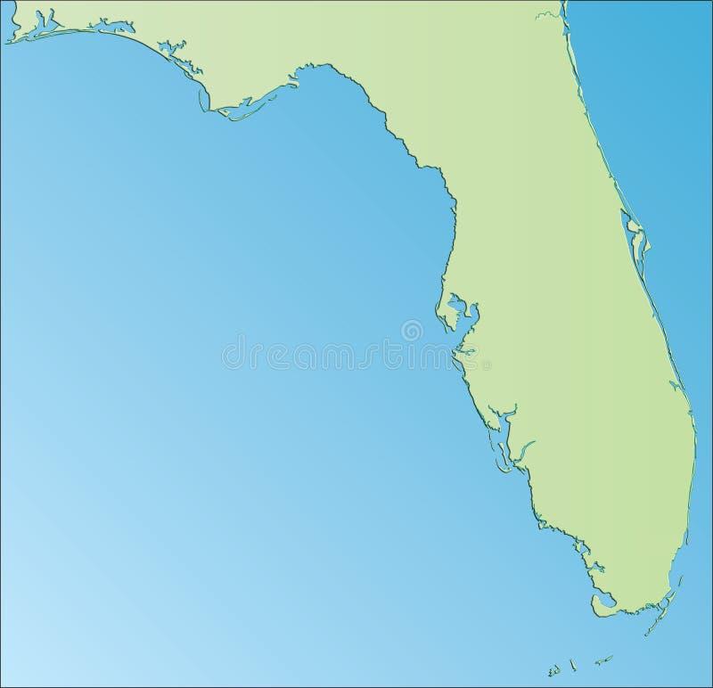 La Floride Etats-Unis illustration de vecteur