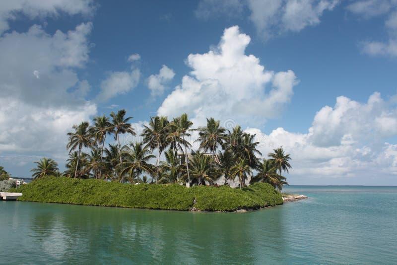 La Floride verrouille l'île image stock