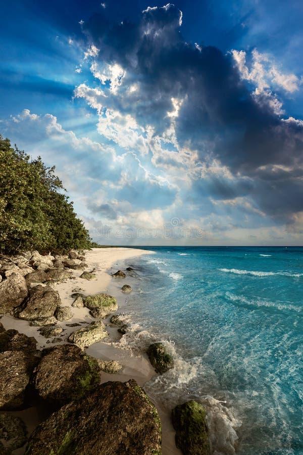 La Floride verrouille la plage Bahia Honda Park USA images stock