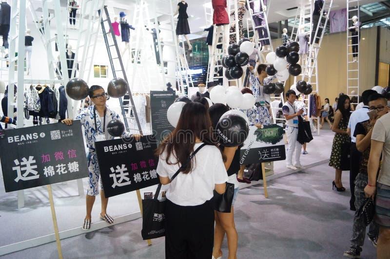 Download La Foire Commerciale De Quinzième De La Chine (Shenzhen) De Marque Habillement International D'habillement Photo stock éditorial - Image du affaires, mode: 56479213