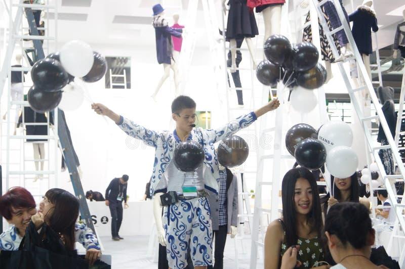 Download La Foire Commerciale De Quinzième De La Chine (Shenzhen) De Marque Habillement International D'habillement Photographie éditorial - Image du mode, international: 56479997