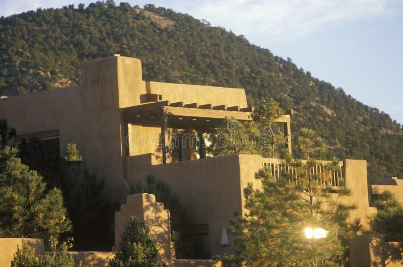 La Fonda Hotel in Santa Fe, NM royalty free stock images
