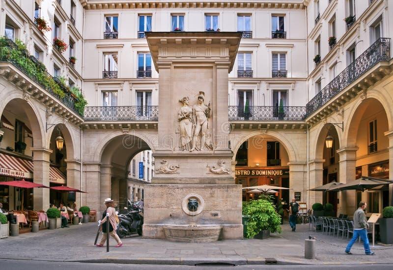 La Fontaine De Mars (fontaine De Mars De La) Photographie éditorial ...