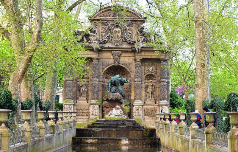 La fontaine de Medici photo stock