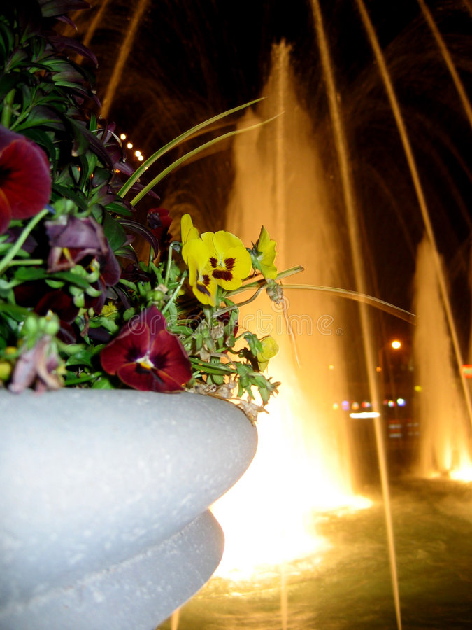 La fontana. fotografie stock libere da diritti