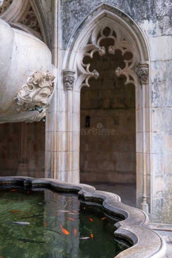La fontana fotografie stock libere da diritti