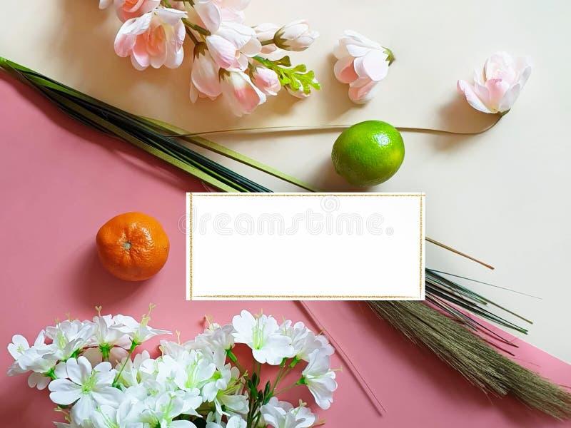 La forma de vida sana de las flores de la primavera todavía da fruto la comida m de Eco del vegano de la vida del concepto del f imágenes de archivo libres de regalías