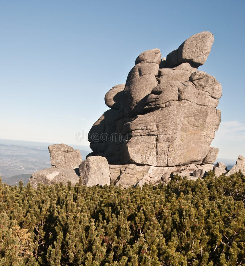 Download La Formazione Rocciosa Ha Chiamato Slonecznik In Montagne Di Karkonosze Fotografia Stock - Immagine di geologia, roccia: 55359952