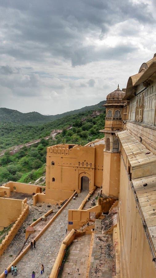 La fortaleza ambarina fotografía de archivo
