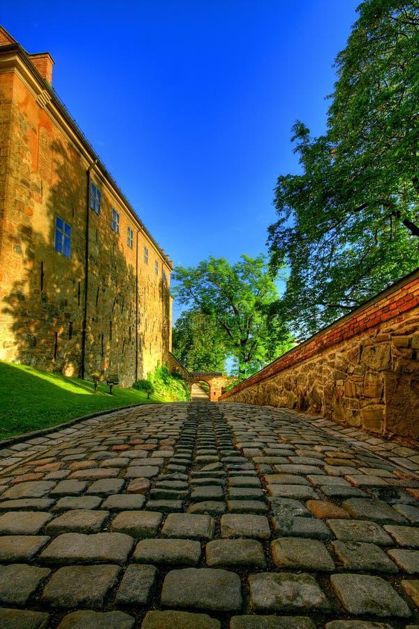 La fortaleza de Akershus, Oslo fotos de archivo