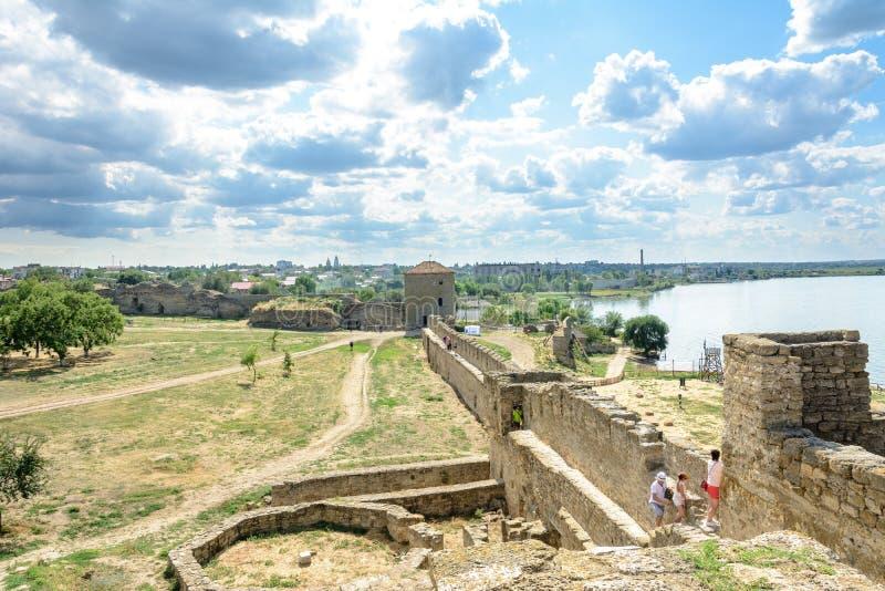 La fortaleza de Akkerman es un monumento histórico y arquitectónico fotografía de archivo