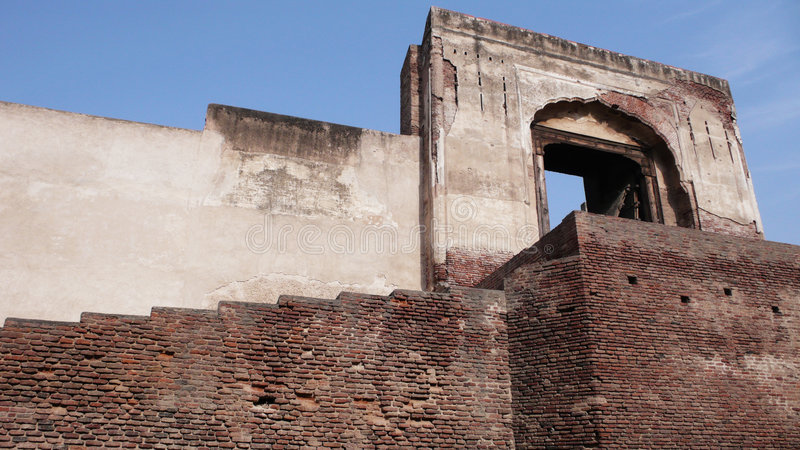 La fortaleza de Lahore imagen de archivo libre de regalías