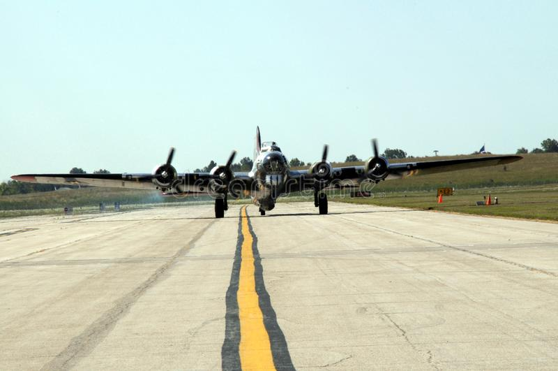 La fortaleza del vuelo B17 fotos de archivo