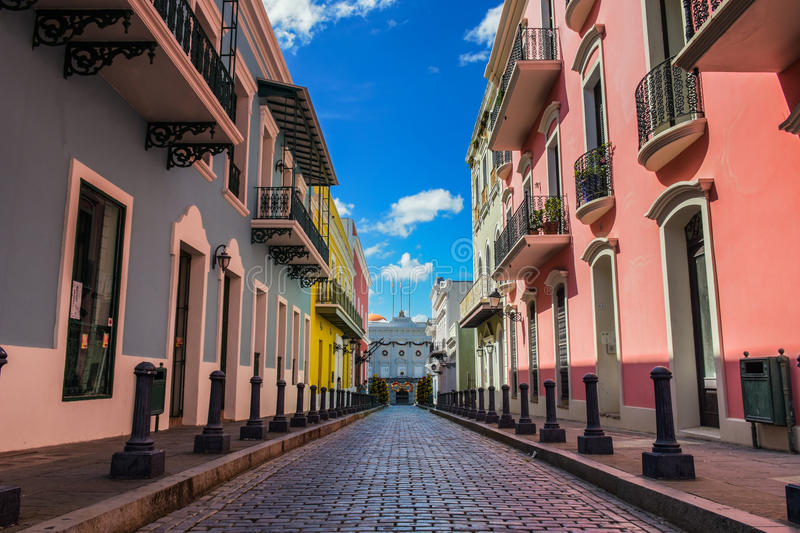 La Fortaleza. Old San Juan Puerto Rico Governor House royalty free stock images