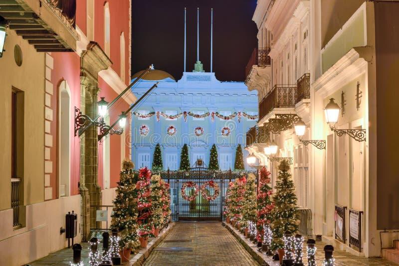 La Fortaleza - San Juan royalty-vrije stock foto's