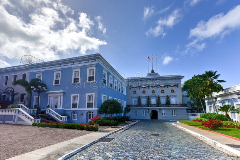 La Fortaleza - San Juan stock photography