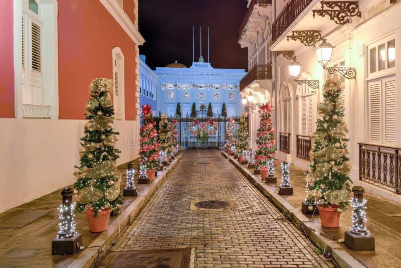 La Fortaleza - San Juan royalty free stock image