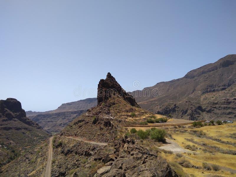 La Fortaleza sur mamie Canaria photographie stock