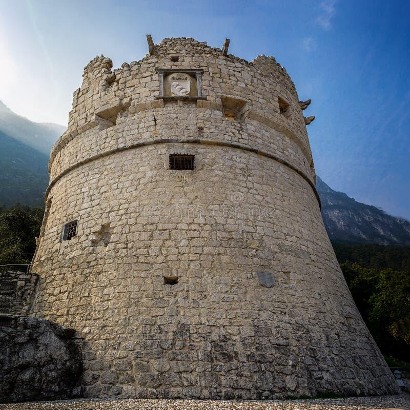 Download La Forteresse De Riva Del Garda Photo stock - Image du italien, marche: 45357490