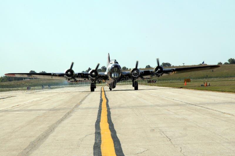 La fortezza di volo B17 fotografie stock