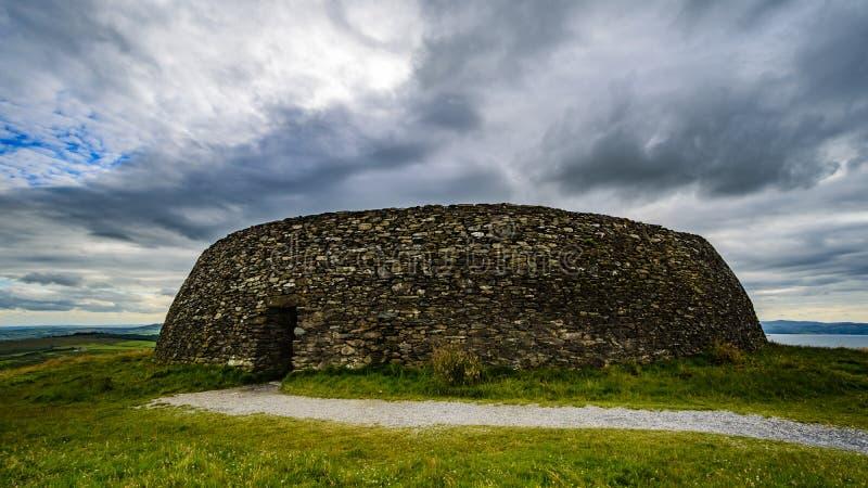 La fortificazione di pietra del ¡ n di Grianà di Aileach immagine stock libera da diritti