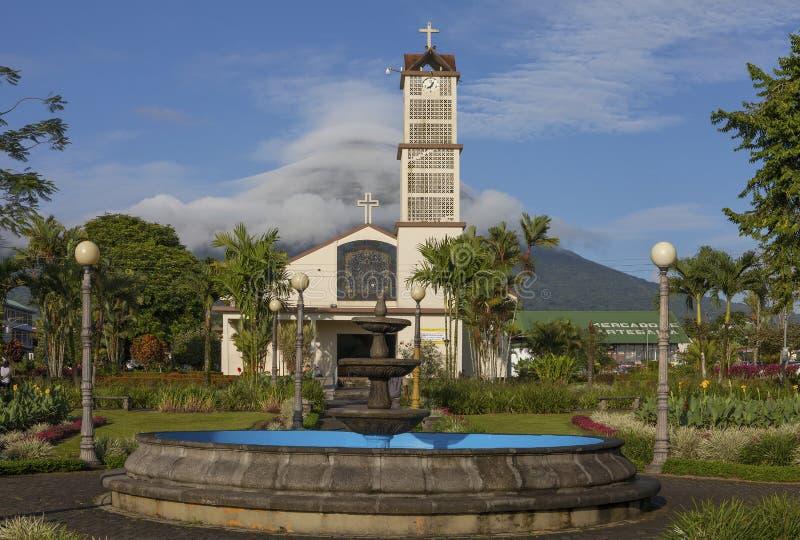 La Fortuna, Costa Rica image libre de droits