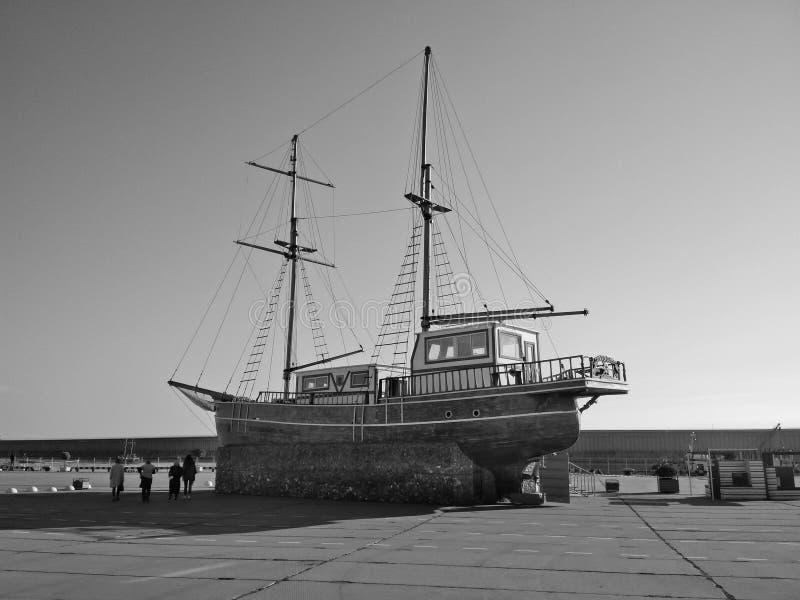 La foto del vintage de la nave imagen de archivo libre de regalías