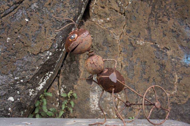 La fourmi de roues photos libres de droits