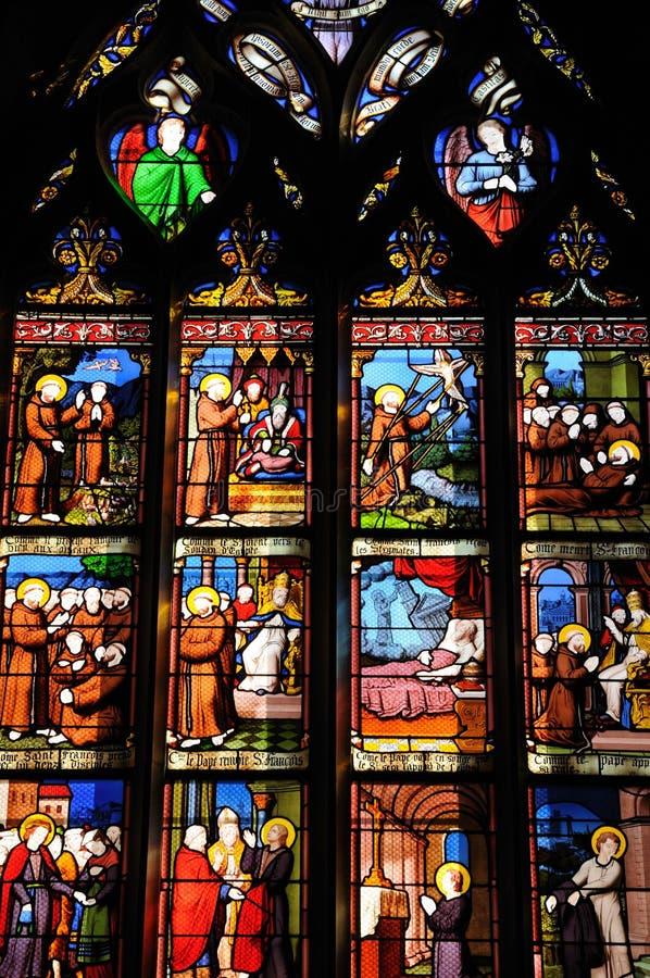 La France, église de Guerande image stock