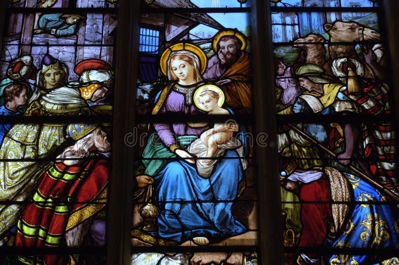 La France, église de Les Mureaux photos libres de droits